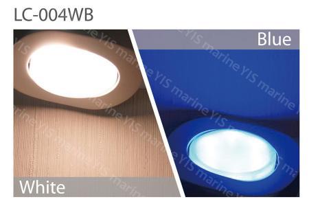 White / Blue Dual Color
