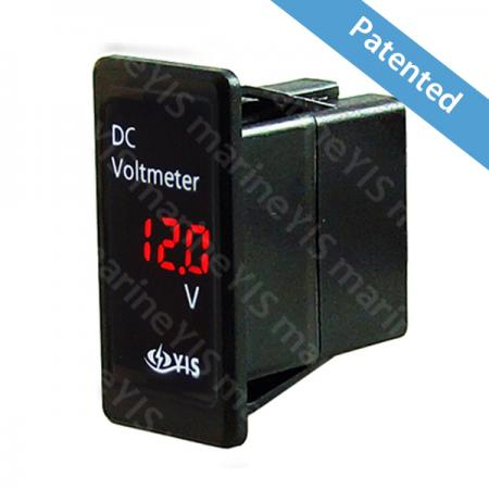 SP-BG4-Digital Voltmeter – Switch Mount - SP-BG4-Digital Voltmeter – Switch Mount