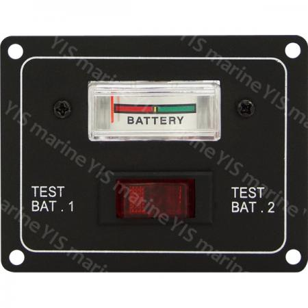 Battery Test Gauge with Switch - SP1051-Battery Test Gauge with Switch