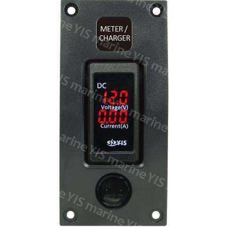 SP3331DM Dual (Voltage & Current) Meter Panel