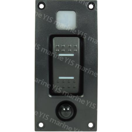 Curved Design Single Branch Switch Panel - SP3331DT