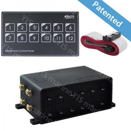 SP5011-12P Membrane Touch Control Panel