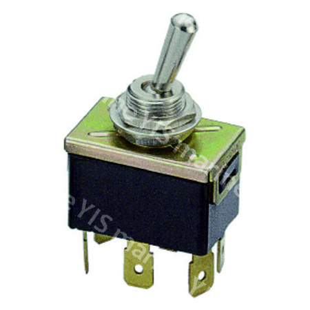 T-1330P 6P DPDT Toggle Switch (Quick Terminal)