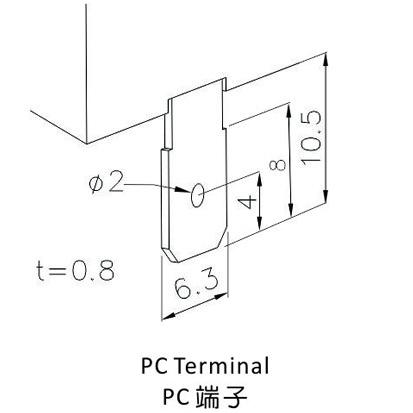 Terminal rapide série T-13