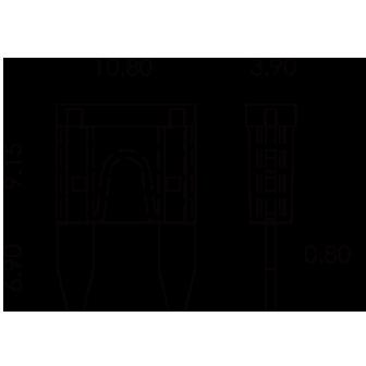ASP / ATM / Mini-Sicherungen CE, SGS und ISO-zertifiziert