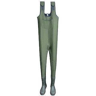 Neoprene Wader with Rubber Boots - Neoprene Wader with Rubber Boots