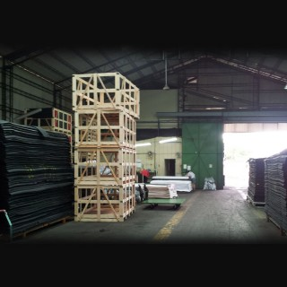 Neoprene Sheets - One of the view of VollWill Neoprene factory