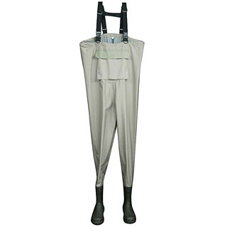 Breathable Wader with Rubber Boots - Breathable Wader with Rubber Boots