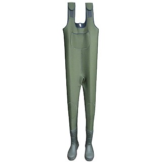 Neoprene Wader with Rubber Boots