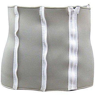 4 Zipper Waist Belt - 4 ZIPPER WAIST BELT