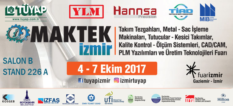 Let's meet on October 04-07, 2017~Maktek Izmir 2017 - Maktek Izmir 2017