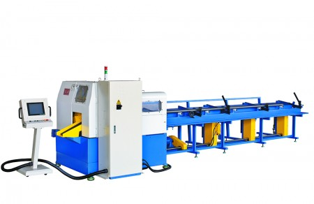NSA-80 CNC Fully Automatic Saw-Cutting Machine (Heavy Tube Cutting) - CNC Fully Automatic Saw-Cutting Machine (Heavy Tube Cutting)