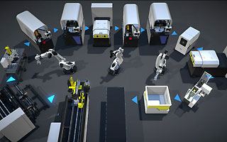 Automatisering af arbejdscelle