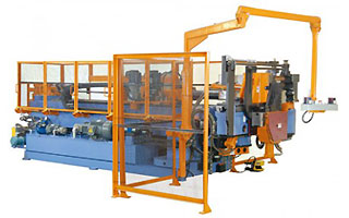 CNC helautomatisk rörbockare