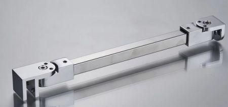Adjustable angle shower bracket, support bar or support arm to shower enclosures - ASP417. Brackets (ASP417)
