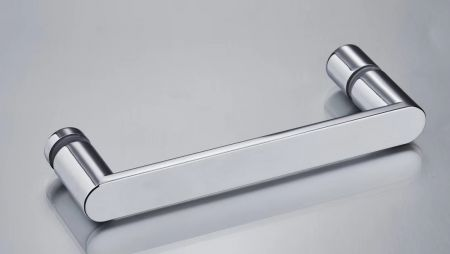 Zinc alloy shower handle with chromed finish to suit your shower enclosures - ASP146. Handles& knobs (ASP146)