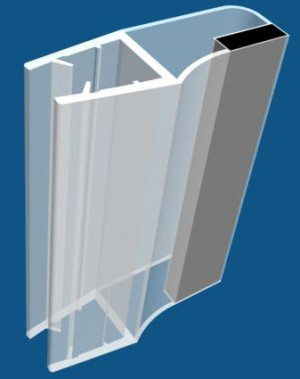 PVC seal & Magnetic seal - ASP503. PVC-seal (ASP503)