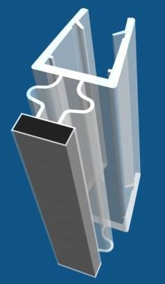 PVC seal & Magnetic seal - ASP512. PVC-seal (ASP512)
