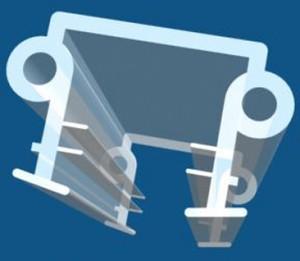 PVC seal & Magnetic seal - ASP516. PVC-seal (ASP516)