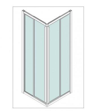 Framd Shower Enclosure - A1320. Framd Shower Enclosure (A1320)