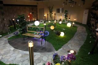 Luz exterior del jardín