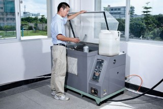 Salt Spary Test Machine (To test Anti-corrosion status of metal material)
