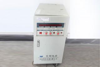 Schaltleistung (zum Anpassen von Spannung und Frequenz bei der Durchführung des Alterungstests)
