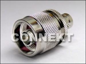 Adaptador de conector BNC para N