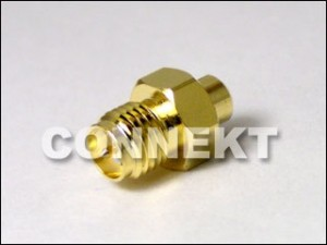 SMA Jack RP To MMCX Jack RP Adapter
