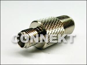 Adaptor: SMA Jack To F Jack 75ohm
