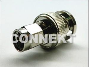 BNC Plug To SMA Plug Adaptor