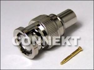 BNC Plug Molding Type
