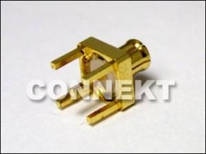 MCX Plug For P.C.B Mount (4 Legs)