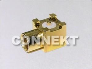 Gniazdo MCX do montażu na płytce drukowanej (typ SMT)