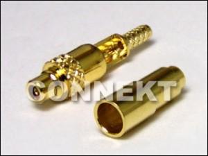 MMCX Plug RP Solder/Crimp