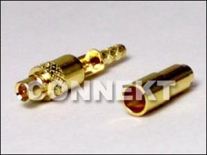 MMCX Plug Solder/Crimp