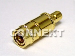 SMB Plug To SMB Jack Adaptor