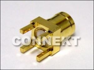Plugue SMB para montagem em PCB (4 pernas)
