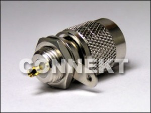 TNC Plug Bulkhead Type