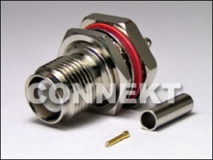 TNC Jack RP For Cable RG316 (Bulkhead, Crimp)