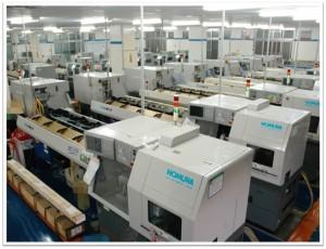 Máquinas automáticas de tornear e parafusar (NOMURA)