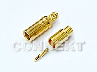 SSMCX 50ohm Jack Crimp For 1.13/ 1.32/ 1.37 Cable