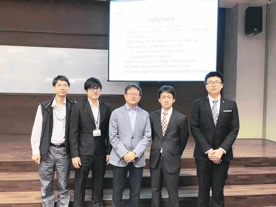 PMC处长林春福(中)、日本神户大学教授佐藤隆太(右二)于研讨会合影。  PMC/提供