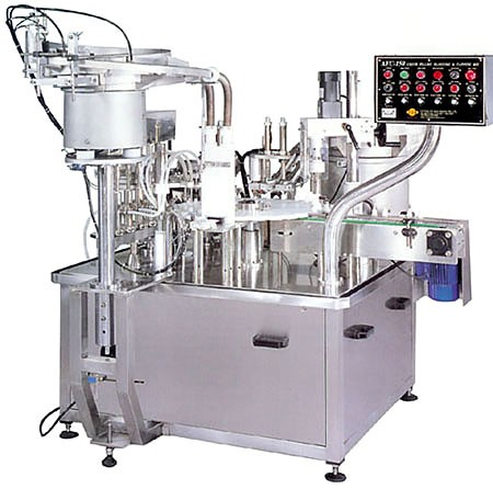 Automatic Filling Plugging and Capping Machine