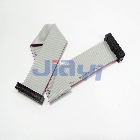 IDC Socket to Dip Plug Flat Ribbon Cable - IDC Socket to Dip Plug Flat Ribbon Cable