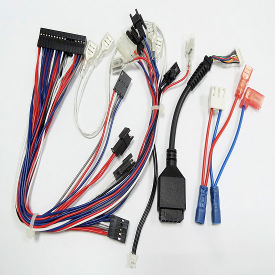on harnesses wiring