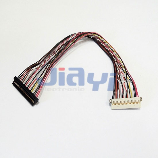 Lvds Wire Harness With Jae Fi S Connector Cable And Wire Harness