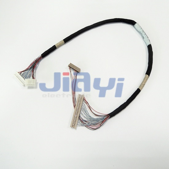 Hirose DF14 LVDS and LCD Wire Harness - Hirose DF14 LVDS and LCD Wire Harness
