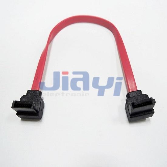 Serial ATA 7P Right Angle Cable - Serial ATA 7P Right Angle Cable