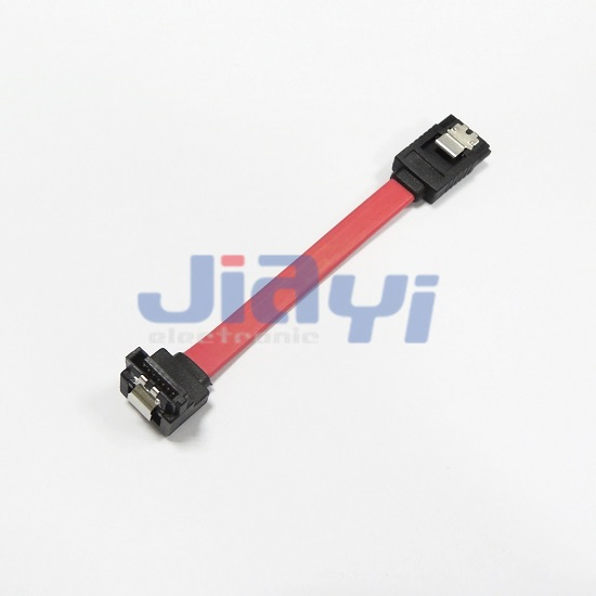 SATA 7P Right Angle Data Cable - SATA 7P Right Angle Data Cable